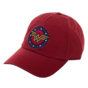 Wonder Woman Hat Cap Dad Style DC Comics Relaxed